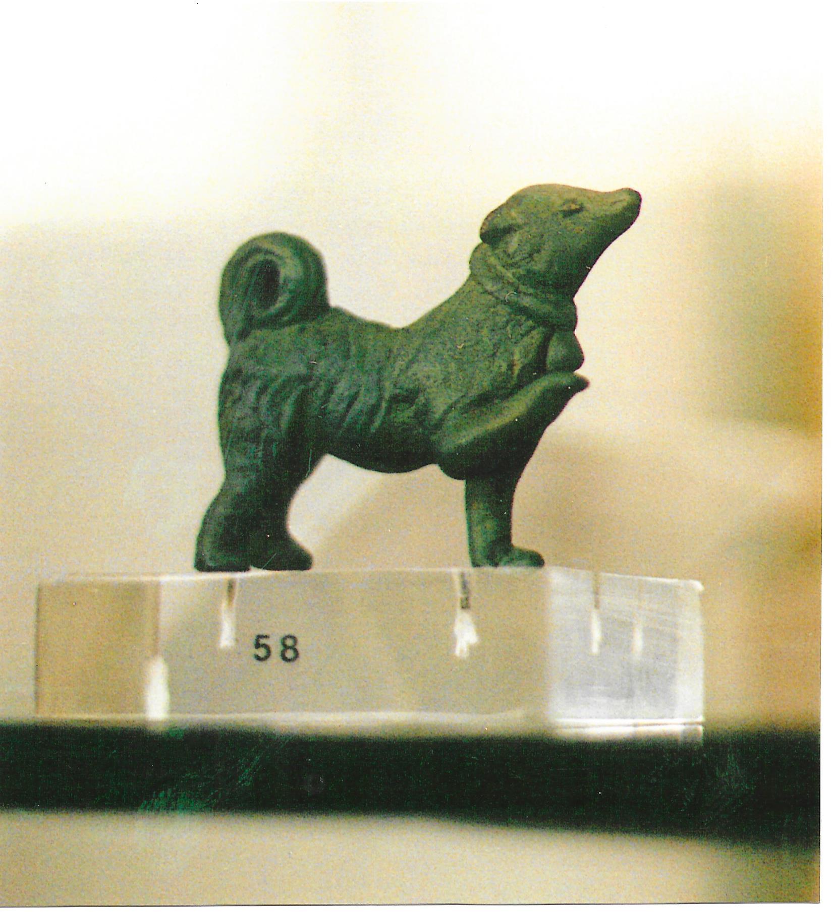 13 Bronzetto ellenistico del II secolo A.C. conservato al Museo Nazionale Archeologico di Atene. Pur nelle ridotte dimensioni, l'artista ha saputo riprodurre con impressionante realismo i tratti salienti strutturali e caratteriali della razza